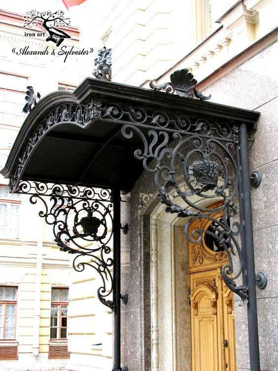 Contacts & Handcrafted wrought iron canopies - «Alexandr u0026 Sylvester»